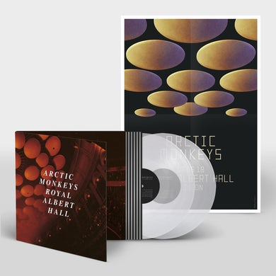 Arctic Monkeys Live At The Royal Albert Hall Clear Double Heavyweight LP (Vinyl)
