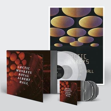 Arctic Monkeys Ltd Double LP / CD BundleHeavyweight Clear Vinyl20 TracksGatefold SleeveExclusive A2 Poster Multi