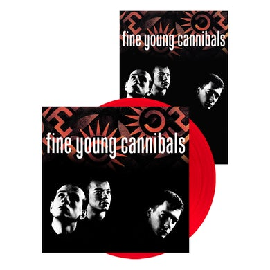 Fine Young Cannibals Red Vinyl LP