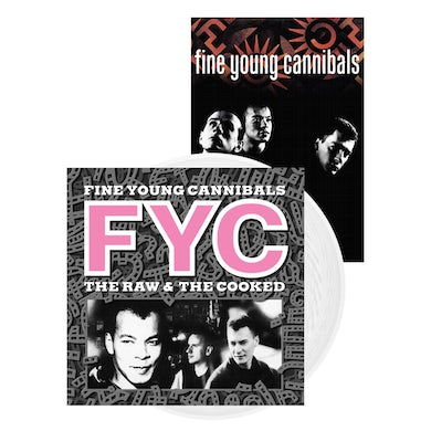 Fine Young Cannibals The Raw & The Cooked White Vinyl LP