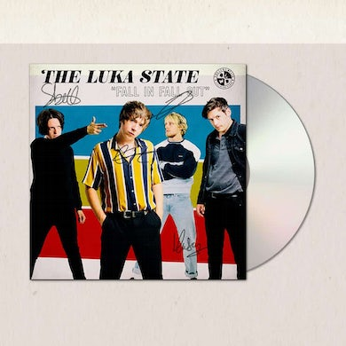 The Luka State Fall In Fall Out CD (Signed) CD