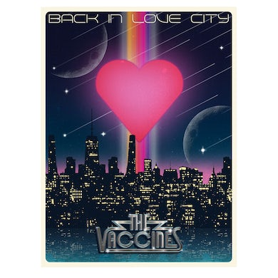 Back In Love City A2 Poster