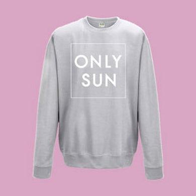 Only Sun Box Logo Jumper - (Grey)
