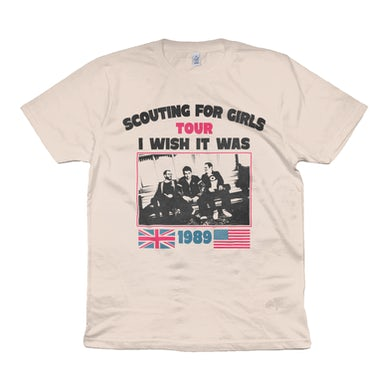 Scouting For Girls I Wish It Was 1989 T-Shirt (Natural)