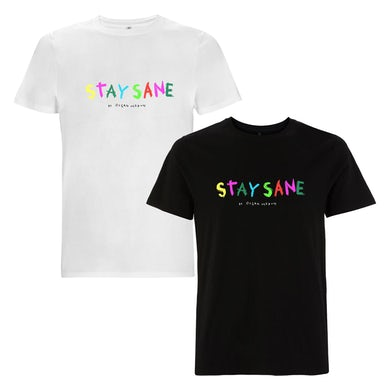 Ocean Wisdom Stay Sane Embroidered T-Shirt
