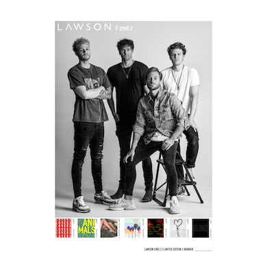 Lawson CMD Z Limited Edition A2 Poster (Signed, Numbered)