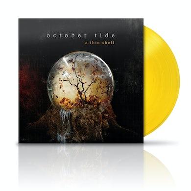 October Tide A Thin Shell Yellow LP (Vinyl)
