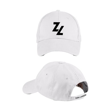 Zara Larsson Logo White Cap