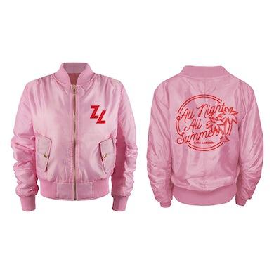 Zara Larsson Pink Bomber Jacket