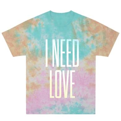 Zara Larsson I Need Love Tie-Dye T-Shirt