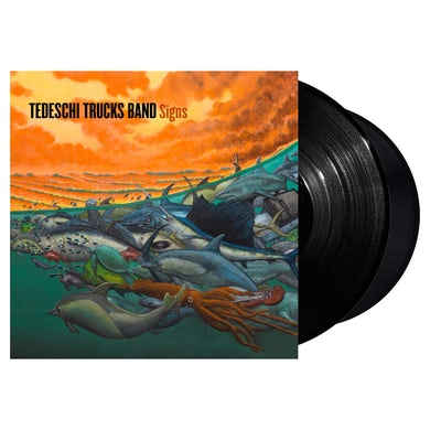 Snakefarm Records Tedeschi Trucks Band Signs LP (Vinyl)