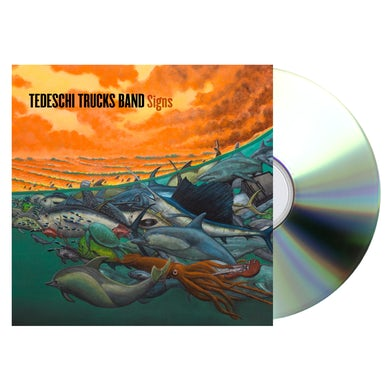 Snakefarm Records Tedeschi Trucks Band Signs CD