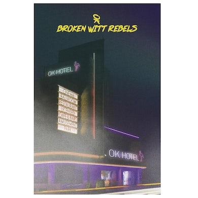Snakefarm Records OK Hotel Poster