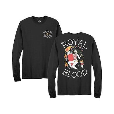 Royal Blood Lighter Long Sleeve T-Shirt