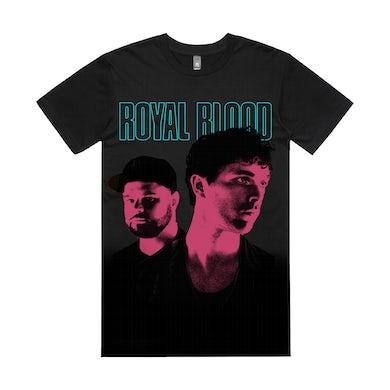 Royal Blood Large Print T-Shirt