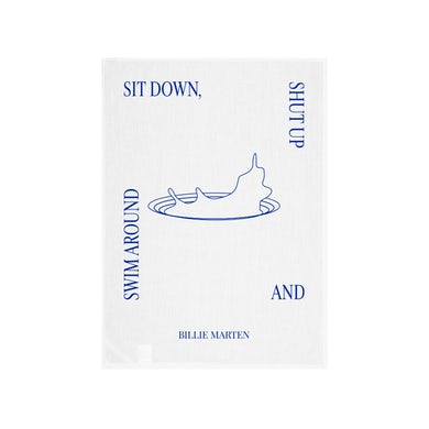 Billie Marten Sit Down Tea Towel