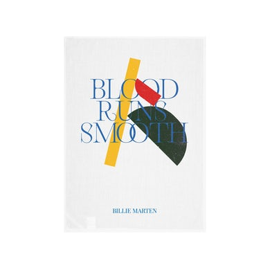 Billie Marten Blood Runs Smooth Tea Towel