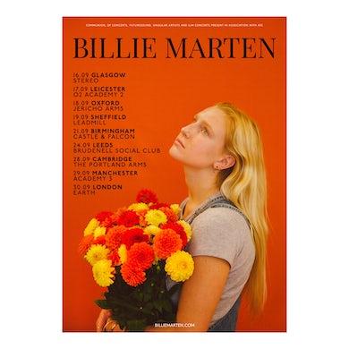 Billie Marten A2 Tour Print (Signed)