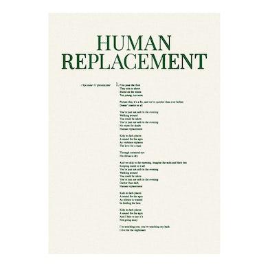 Human Replacement Lyric Sheet