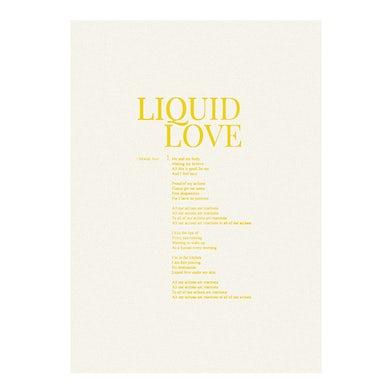 Liquid Love Lyric Sheet