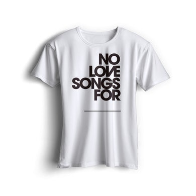 Kyle Falconer 'No Love Songs For' Custom T-Shirt