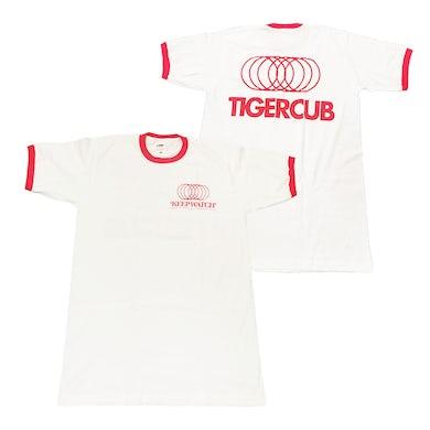 Tigercub Keep Watch Ringer T-Shirt (White/Red)
