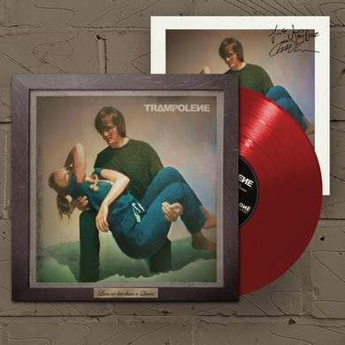 Trampolene Love No Less Than A Queen Red LP (Vinyl)