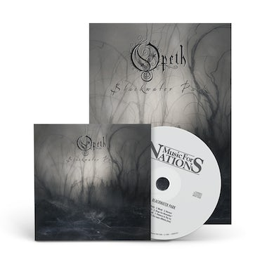 Blackwater Park: 20th Anniversary Edition Deluxe CD