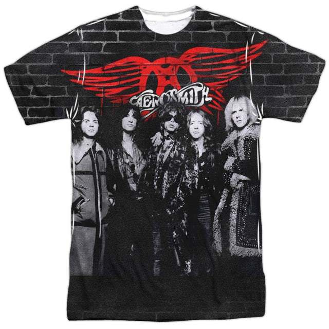 Aerosmith Shirt | BRICK PAINT Tee
