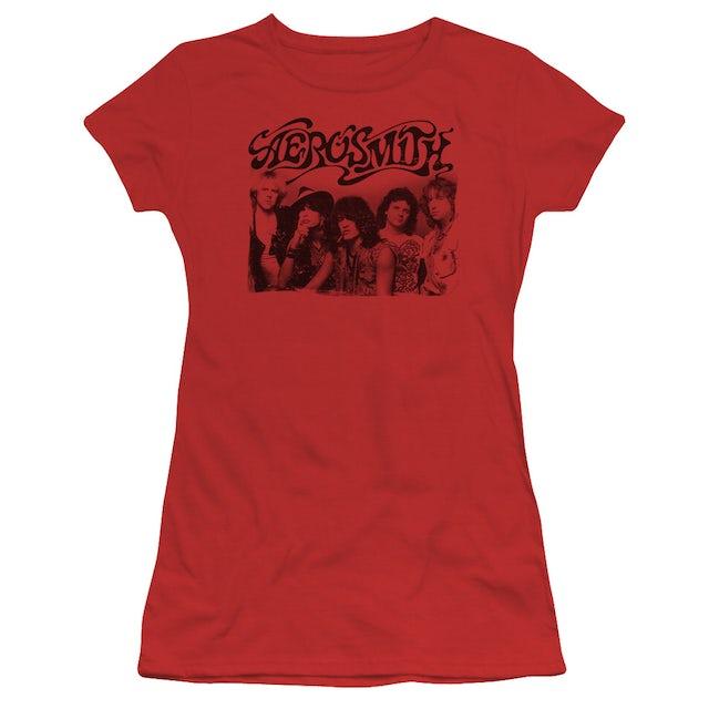 Aerosmith Juniors Shirt   OLD PHOTO Juniors T Shirt