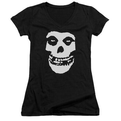 The Misfits Junior's V-Neck Shirt | FIEND SKULL Junior's Tee