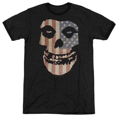 The Misfits Shirt | FIEND FLAG Premium Ringer Tee