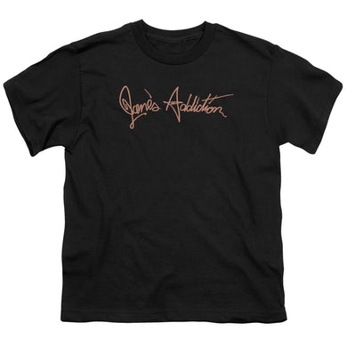 Jane's Addiction Youth Tee | SCRIPT LOGO Youth T Shirt