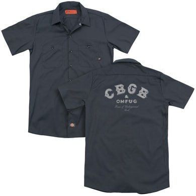CBGB TATTERED LOGO(BACK PRINT)