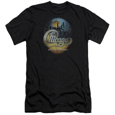 Chicago Slim-Fit Shirt | LIVE Slim-Fit Tee