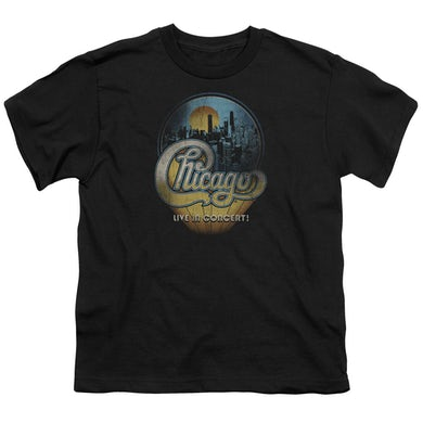 Chicago Youth Tee | LIVE Youth T Shirt