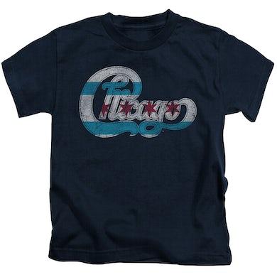 Chicago Kids T Shirt | FLAG LOGO Kids Tee