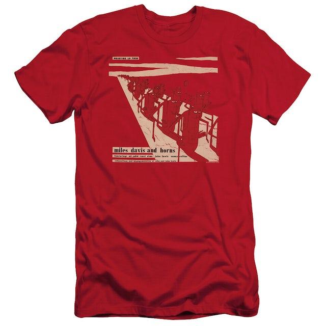 Miles Davis Slim-Fit Shirt | DAVIS AND HORN Slim-Fit Tee