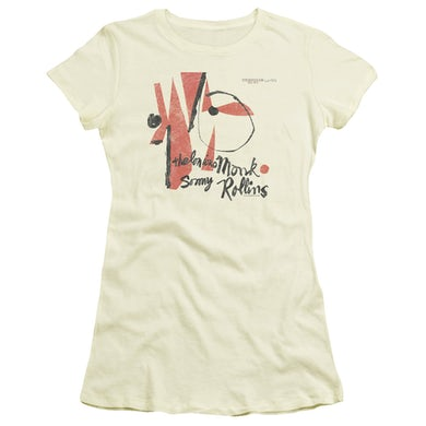 Thelonious Monk Juniors Shirt   MONK SONNY ROLLINS Juniors T Shirt