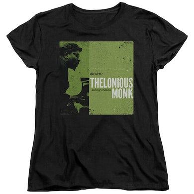 Thelonious Monk Women's Shirt   WORK Ladies Tee