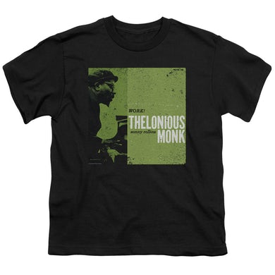 Thelonious Monk Youth Tee   WORK Youth T Shirt