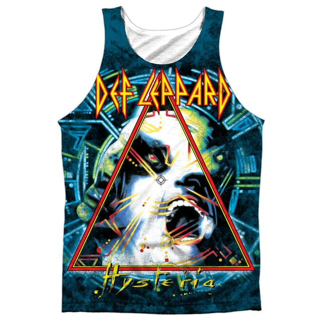 Def Leppard HYSTERIA (FRONT/BACK PRINT)