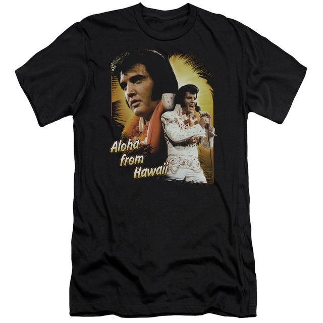 Elvis Presley Slim-Fit Shirt | ALOHA Slim-Fit Tee