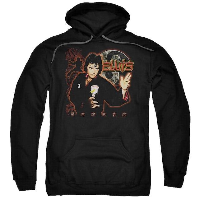 Elvis Presley Hoodie   KARATE Pull-Over Sweatshirt
