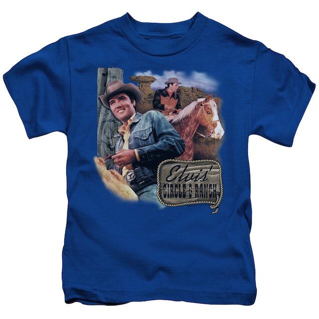 Elvis Presley Kids T Shirt   RANCH Kids Tee