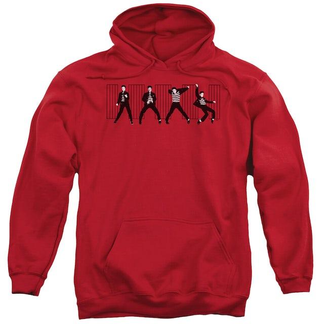 Elvis Presley Hoodie   JAILHOUSE ROCK Pull-Over Sweatshirt