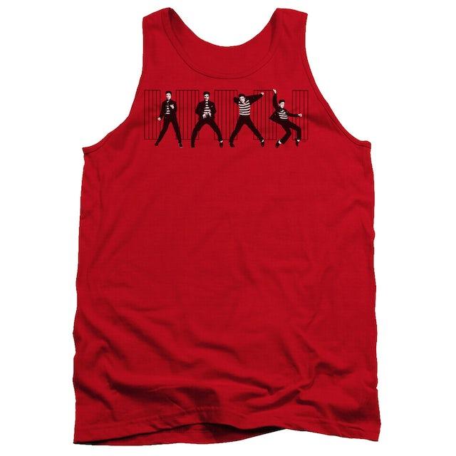 Elvis Presley Tank Top | JAILHOUSE ROCK Sleeveless Shirt