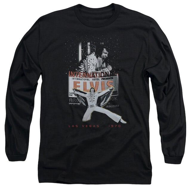 Elvis Presley T Shirt   LAS VEGAS Premium Tee
