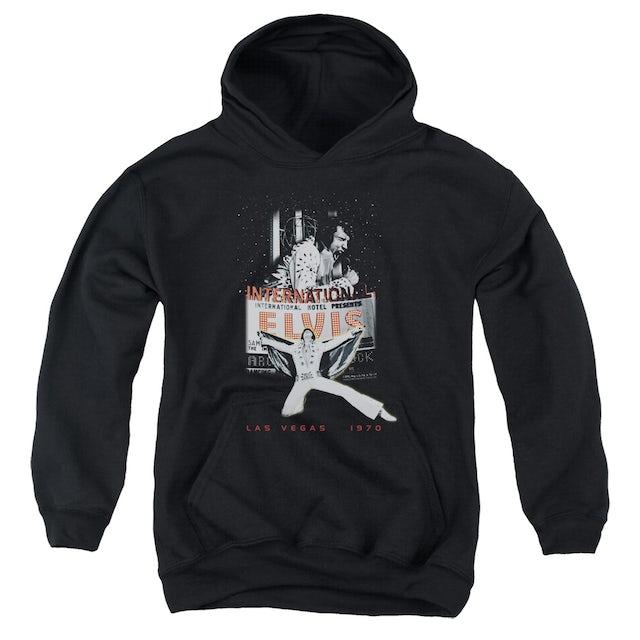Elvis Presley Youth Hoodie | LAS VEGAS Pull-Over Sweatshirt