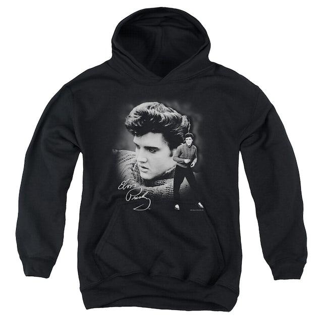 Elvis Presley Youth Hoodie | SWEATER Pull-Over Sweatshirt